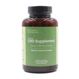 Lazarus Naturals 25 mg CBD Capsules Online