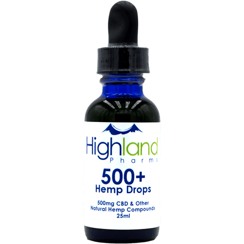 500+ HEMP OIL DROPS