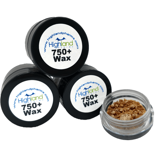 Highland Pharms CBD 750 (75+%) Wax Crumble