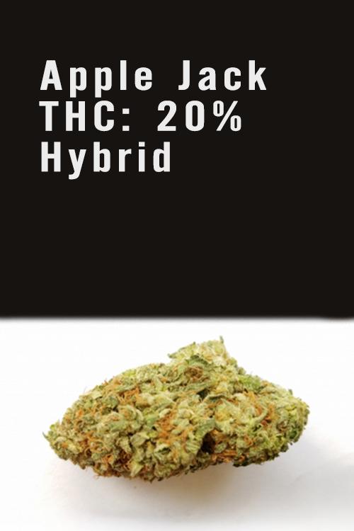 Apple Jack THC 20% Hybrid Marijuana