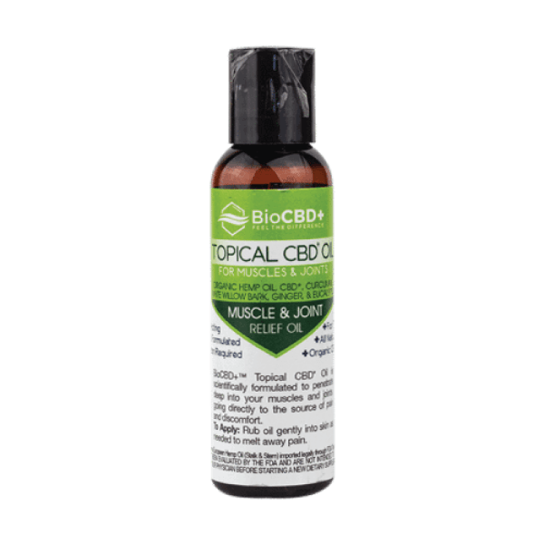 BioCBD+: Premium CBD Topical Oil