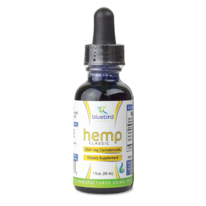 Bluebird Botanicals Hemp Classic CBD Oil