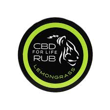 CBD For Life Lemongrass Rub Online