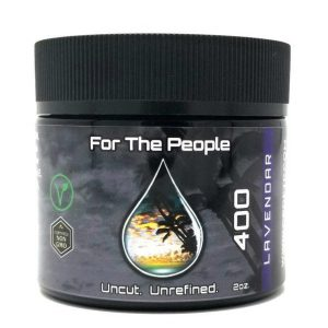 CBD For The People Unrefined Lavender Salve