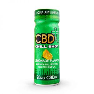 CBDfx CBD Lemonade Chill Shot 200mg
