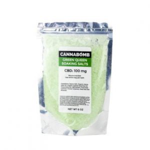CannaBomb Green Queen CBD Soaking Salt