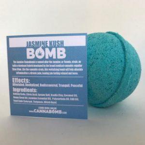CannaBomb Jasmine Kush CBD Bath Bomb