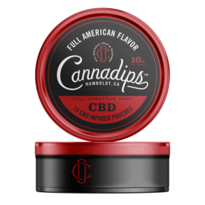 Cannadips Full American CBD Pouches