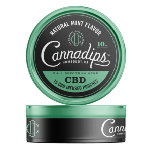 Cannadips Natural Mint CBD Pouches