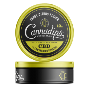 Cannadips Tangy Citrus CBD Pouches