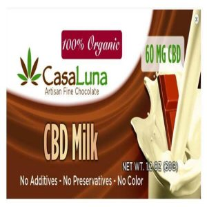 CasaLuna CBD Chocolate Bar (60 mg CBD)