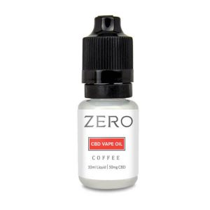 ZERO: Coffee e Liquid Made with Hemp Oil (50mg)