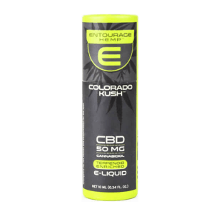 Entourage: Colorado Kush CBD Infused E Liquid (50mg CBD)