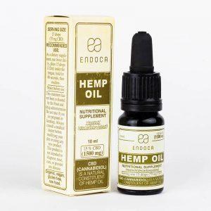 Endoca CBD Hemp Oil Drops 1500 mg