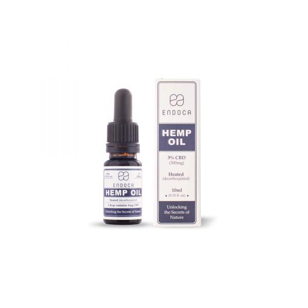 Endoca CBD Hemp Oil Drops 300 mg