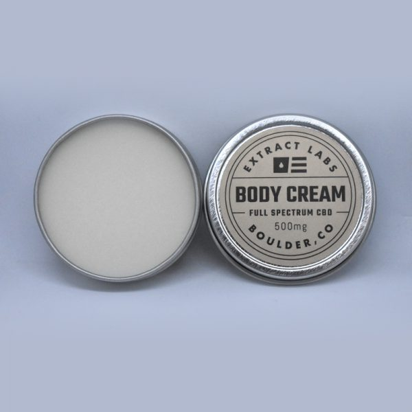 Extract Labs CBD Body Cream 500mg Online