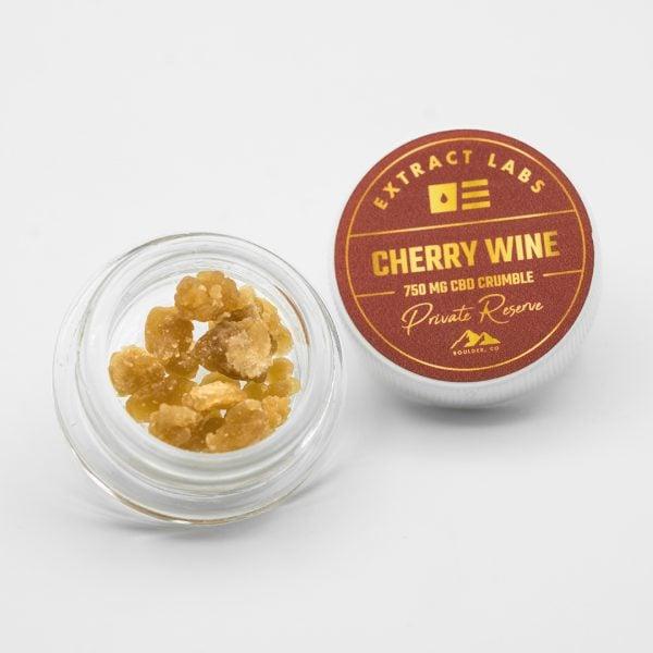 Extract Labs CBD Crumble Cherry Wine Online