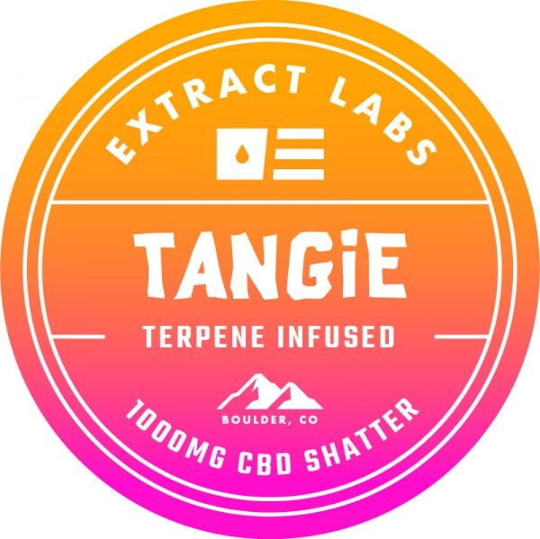 Extract Labs CBD Shatter Tangie
