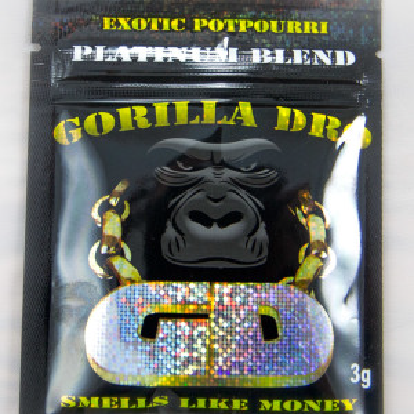GORILLA DRO HERBAL INCENSE