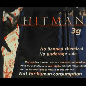 HITMAN HERBAL INCENSE 3G