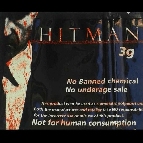 HITMAN HERBAL INCENSE 3G
