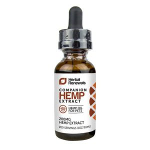 Herbal Renewals: CBD for Pets Blend (200mg CBD)