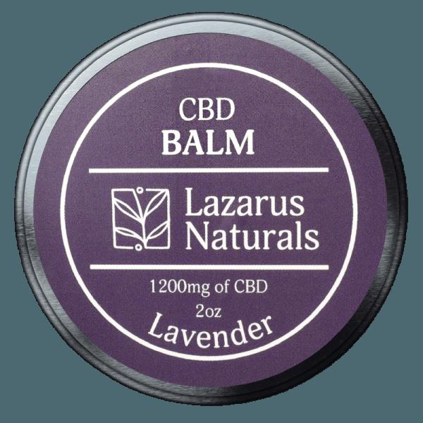 Lazarus Naturals CBD Balm Lavender