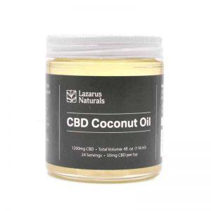 Lazarus Naturals CBD Coconut Oil