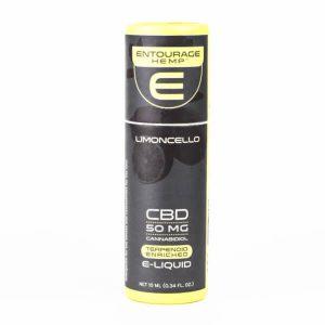 Entourage: Limoncello CBD Oil for Vape Pen (50mg)