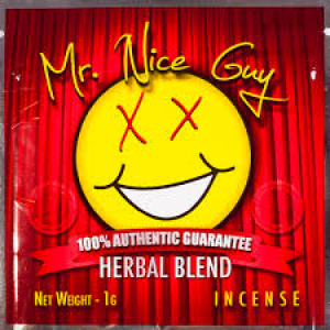 MR NICE GUY HERBAL INCENSE, mrniceguy incense, mr nice guy incense, mister nice guy k2, mr nice guy herbal incense