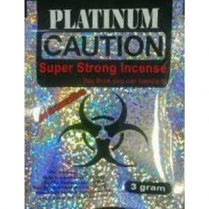 PLATINUM CAUTION SUPER STRONG INCENSE