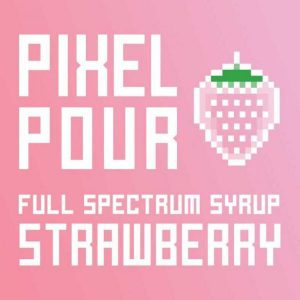 PhytoFamily Pixel Pour Full Spectrum CBD Syrup Strawberry