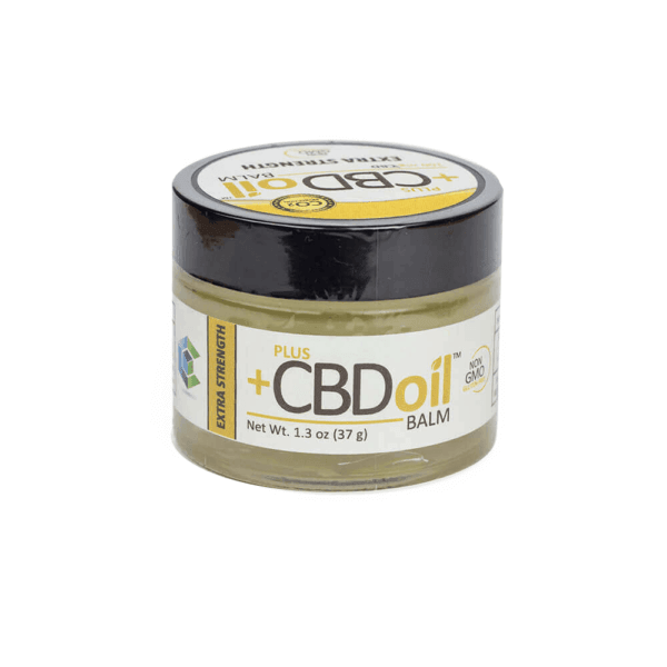 Plus CBD Oil: Extra Strength Hemp Balm (100 mg CBD)