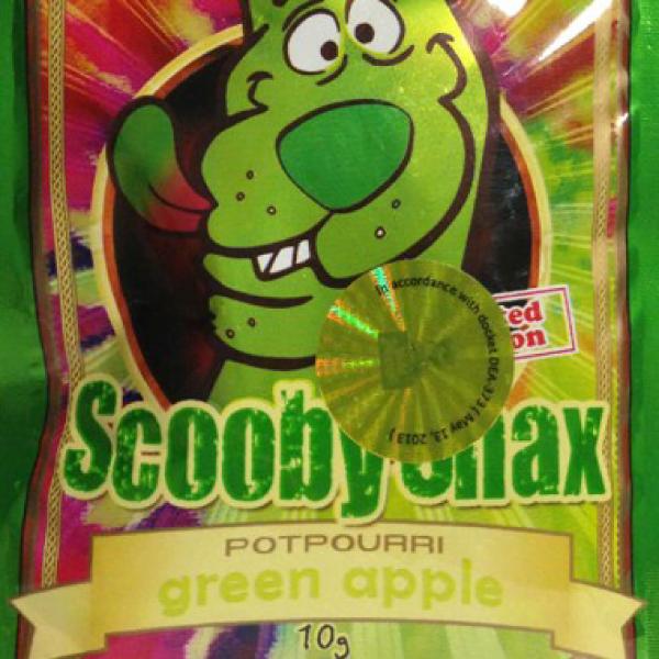 SCOOBY SNAX GREEN APPLE
