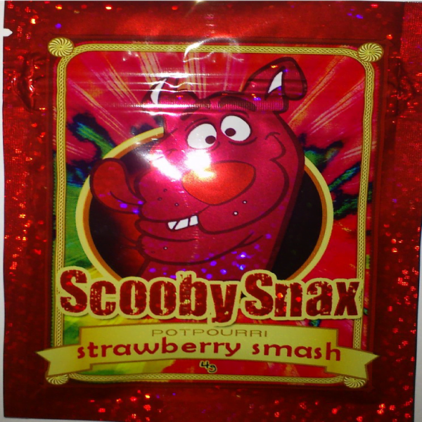 SCOOBY SNAX STRAWBERRY SMASH
