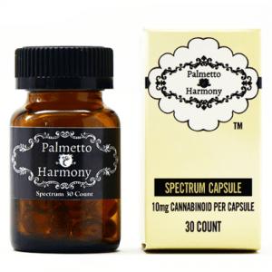 Palmetto Harmony Full Spectrum CBD Hemp Oil Capsules Online