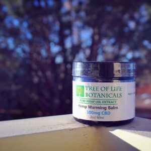 Tree of Life Botanicals CBD Warming Balm