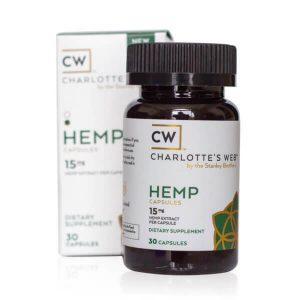 CW Hemp: Simply Hemp Oil Capsules 30-pack (450-1,050mg CBD)