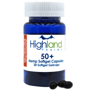 Highland Pharms Hemp Softgel Capsules 50mg -30ct Online