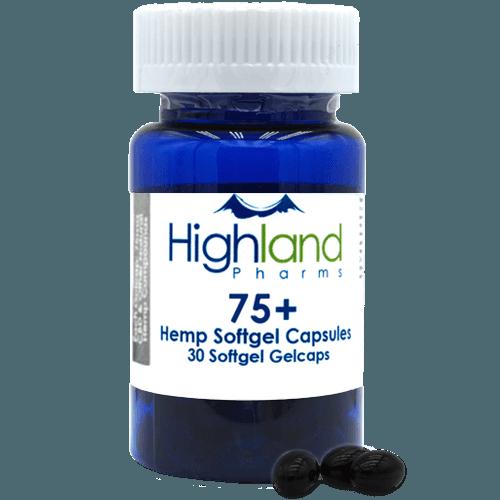 Highland Pharms Hemp Softgel Capsules 75mg -30ct Online