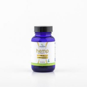 Bluebird Botanicals Hemp Extract Capsules