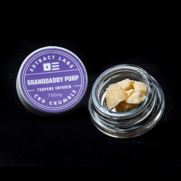 Extract Labs CBD Crumble Granddaddy Purple Online