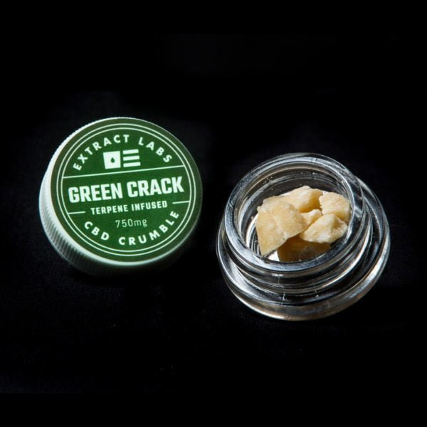 Extract Labs CBD Crumble Green Crack Online